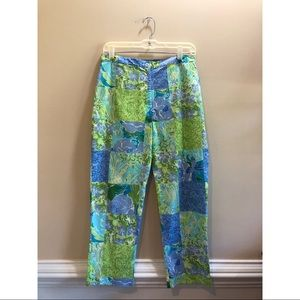 Lilly Pulitzer High Rise Pants